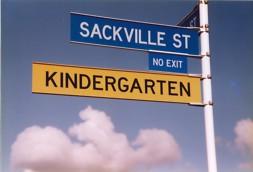 """Richtungsweisend auch in Neuseeland: """"Fröbels Kindergarten"""""""